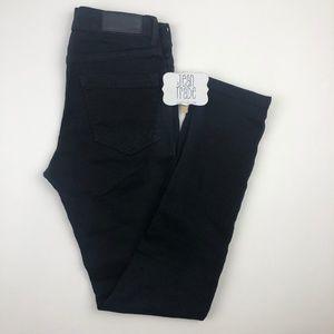 KARL LAGERFELD PARIS Black Skinny Jeans